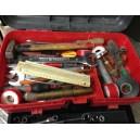 Cassetta attrezzi e minuterie per idraulico