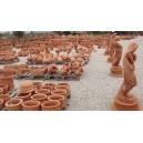 Statue in terra cotta varie