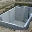 Cisterne  in cemento armato di prima pioggia