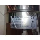 Tubo inox mt 0,5 da 180