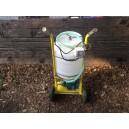 Pompa mini lavaggio impianti e riempimento solari
