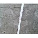 Regina templare scolpita nella pietra