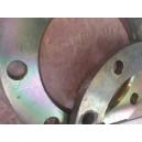 Flangia acciaio p/cartella De 160